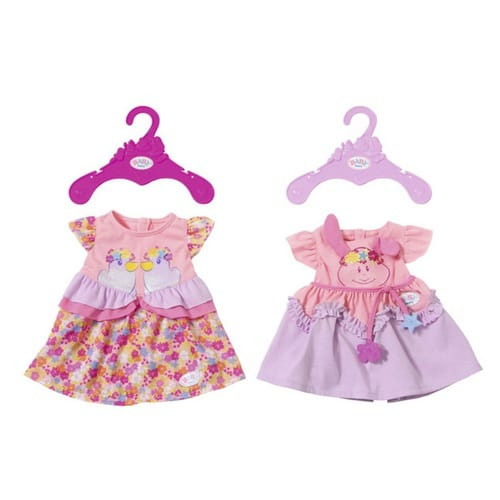 Игрушка BABY born Платья, 2 асс., веш., Baby Born fairy tale dress princess clothing copy brave merida long sleeve clothes for barbie doll 11 5 12 puppet girl toys gift
