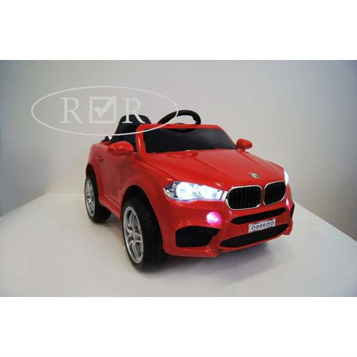 BMW O006OO VIP с дистанционным управлением, красный,  RiverToys