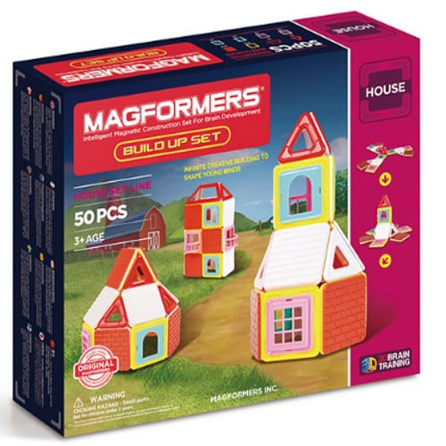 Магнитный конструктор MAGFORMERS 705003 Build Up Set, MAGFORMERS magformers build up set