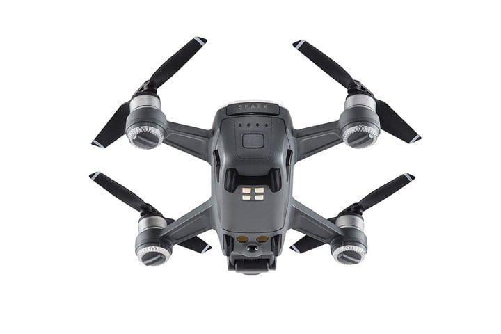 Квадрокоптер (белый) DJI SPARK Fly More Combo (EU) Alpine White, DJI квадрокоптер dji mavic air fly more combo eu arctic white