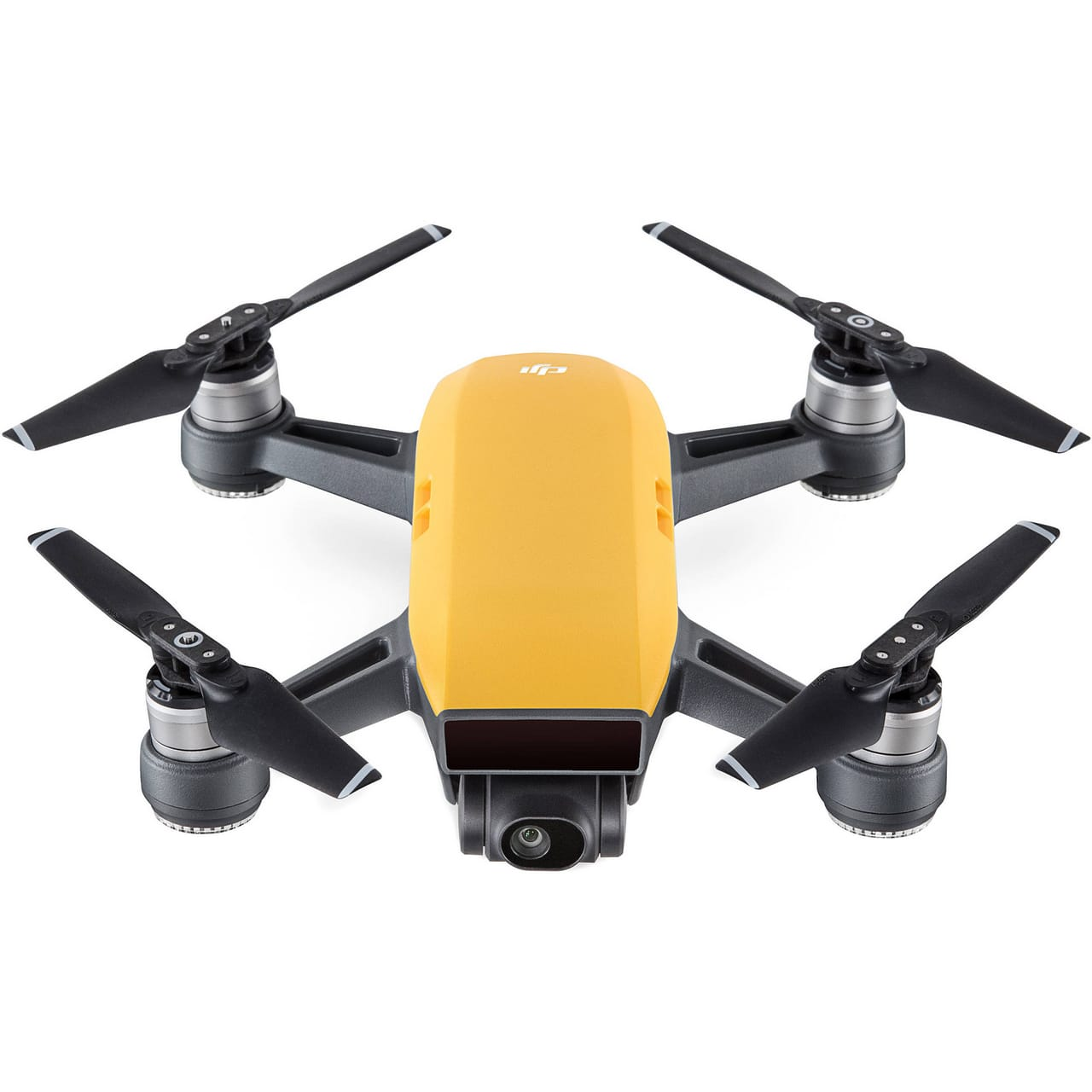 Квадрокоптер (жёлтый) DJI SPARK Fly More Combo (EU) Sunrise Yellow, DJI квадрокоптер dji mavic air fly more combo eu arctic white