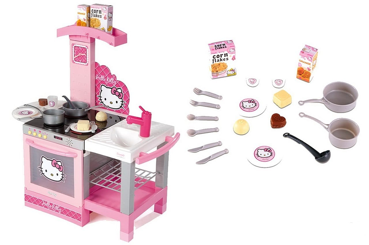 Игровой набор Smoby Hello Kitty Кухня, Smoby