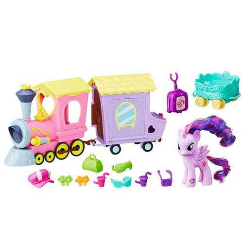 Игровой набор MLP Поезд Дружбы, My Little Pony my little pony b5363 поезд дружбы
