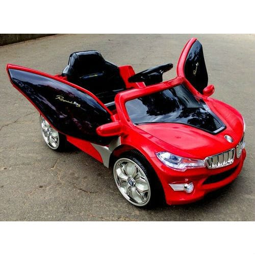 BMW O002OO VIP с дистанционным управлением, красный,  RiverToys