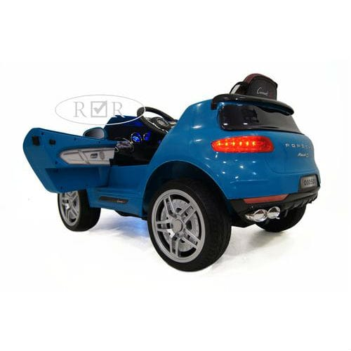 Porsche Macan O005OO VIP с дистанционным управлением,  синий, RiverToys от Kids4kids