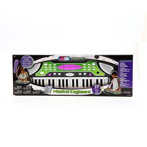 Синтезатор Musical Keyboard, 37клавиш, 65*22*8см, Box,арт.77048