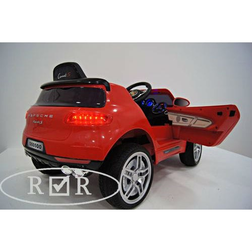 Porsche Macan O005OO VIP с дистанционным управлением,  красный, RiverToys от Kids4kids