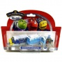 Die-Cast, Паровозик Брюстер и 2 вагончика в инее, Chuggington