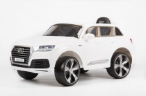 Электромобиль BARTY Audi Q7 Quattro LUX (JJ2188R/2MP) белый глянцевый, Barty